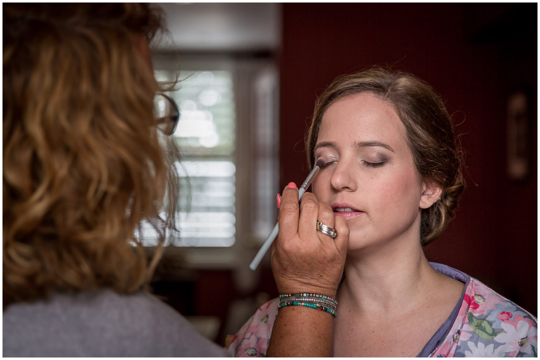 Bridal preparations - make-up