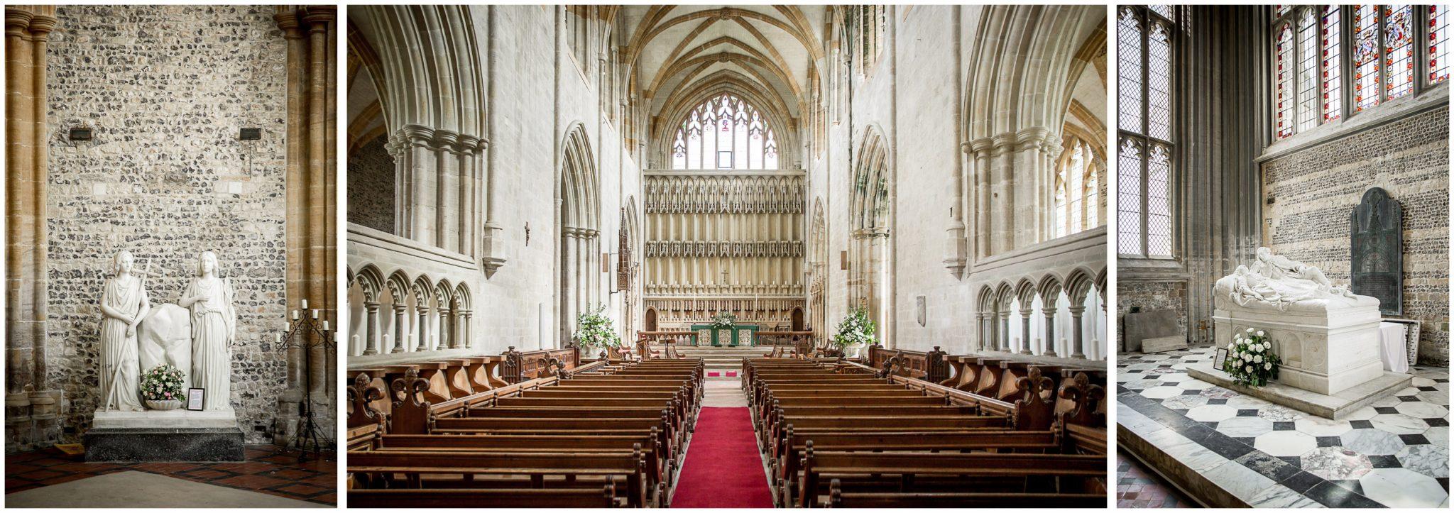 Church venue interior