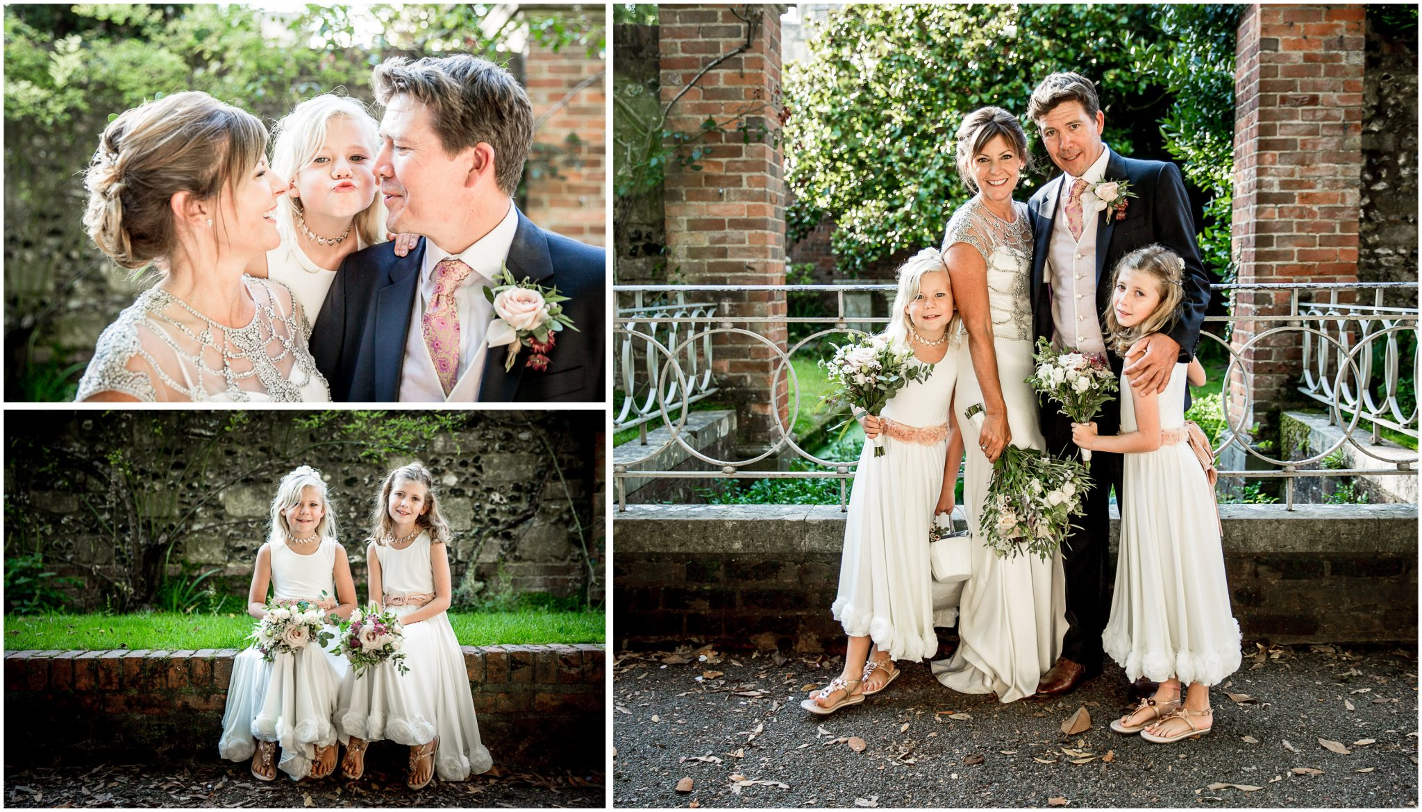 Family wedding portraits in Winchester