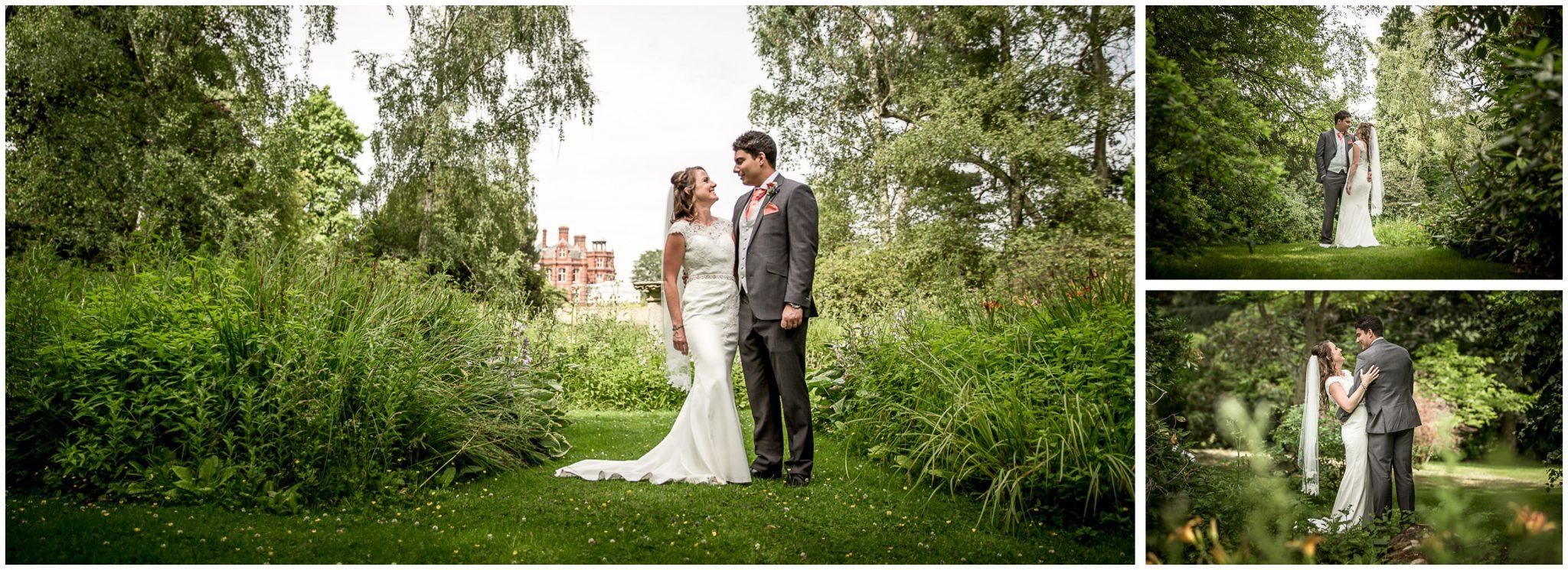Couple portraits in the Elvetham gardens