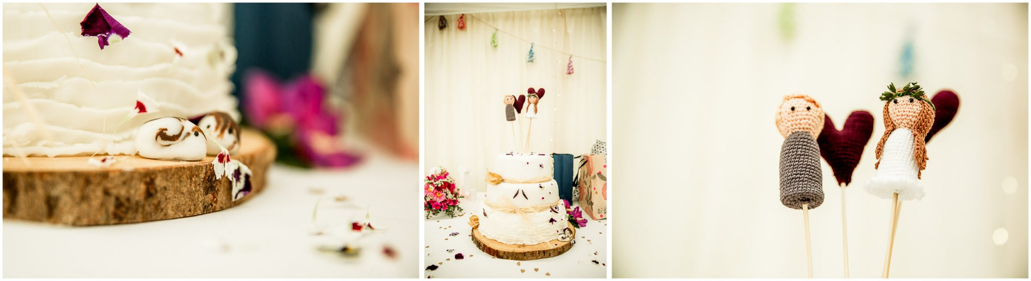 Timsbury Manor Festival Wedding cake details