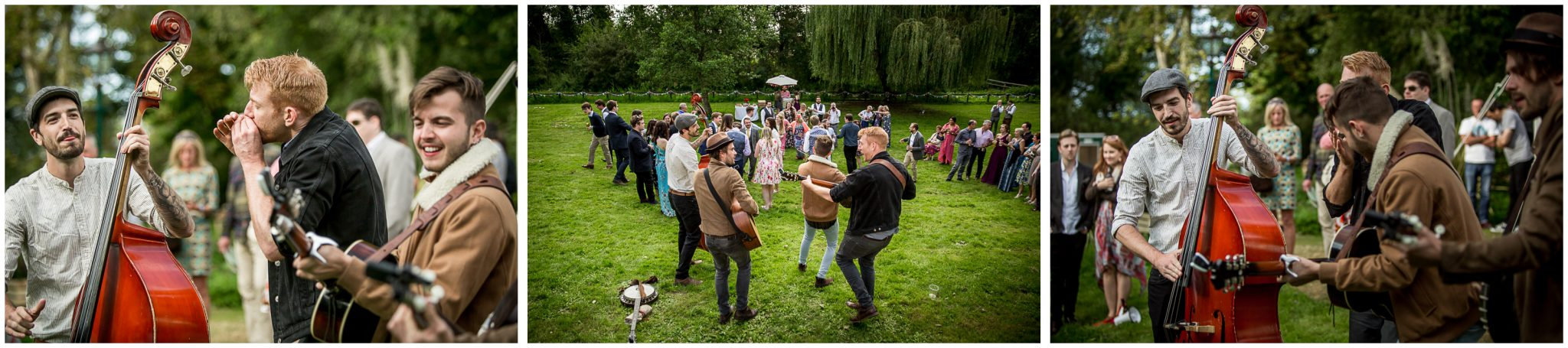 Timsbury Manor Festival Wedding live music in the afternoon
