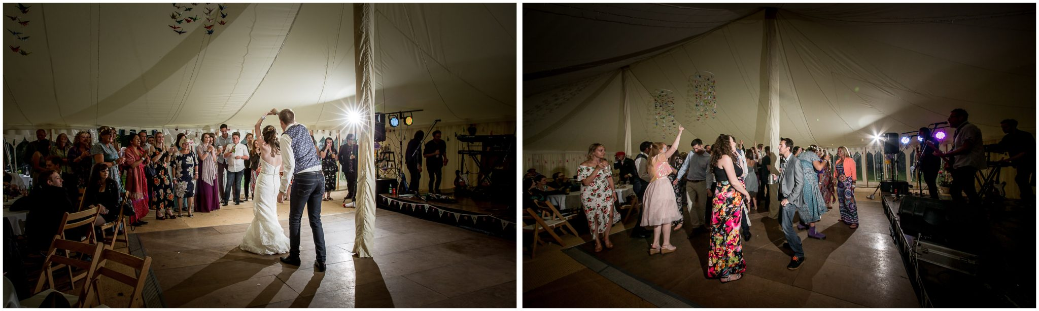 Timsbury Manor Festival Wedding dancefloor action