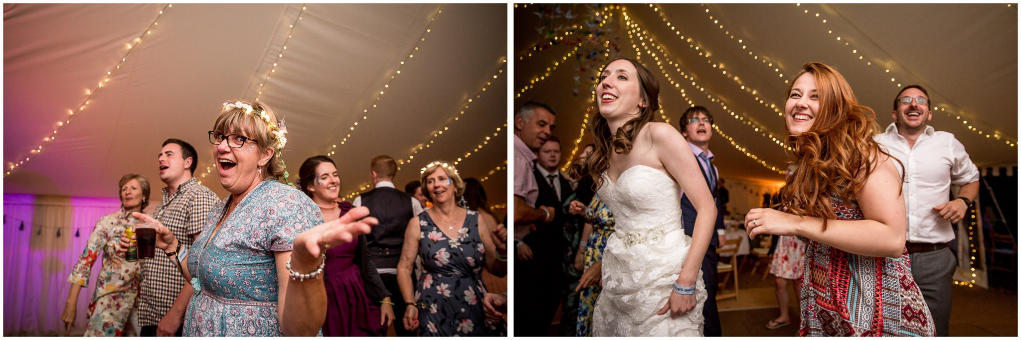 Timsbury Manor Festival Wedding friends and family dancing