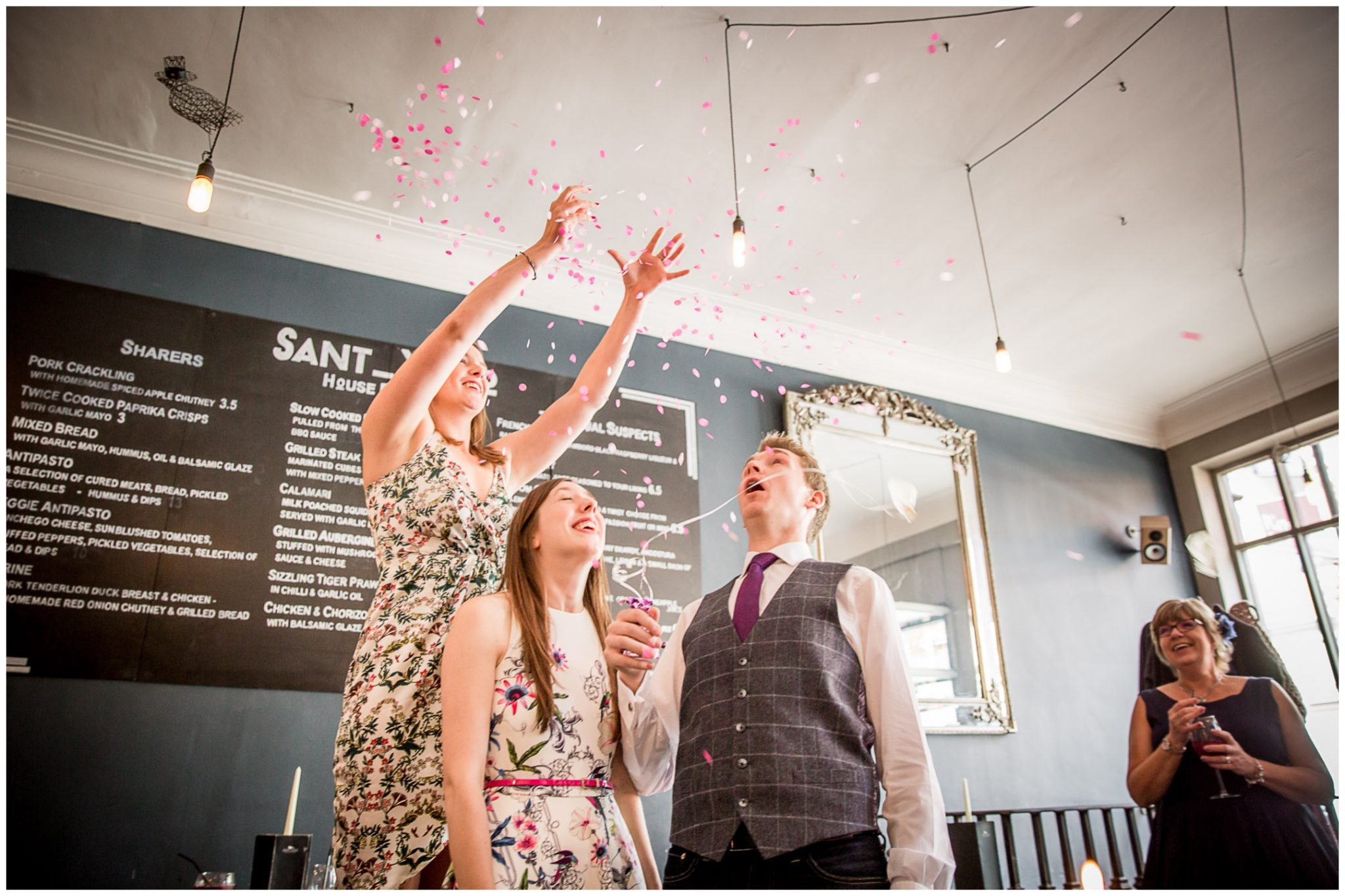 Portsmouth Registry Office wedding confetti balloon
