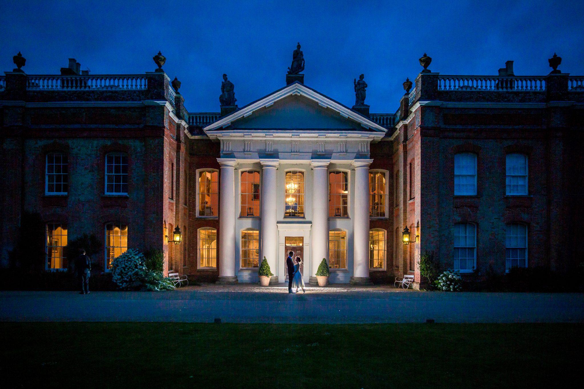 Avington Park Wedding Photographer Night