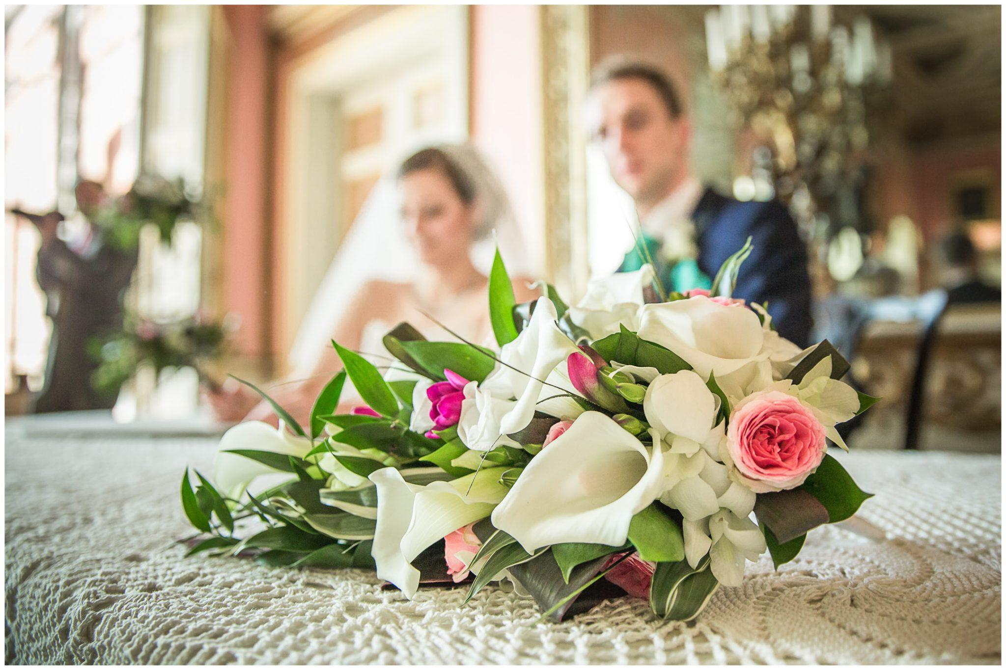 Avington Park wedding photography bouquet detail