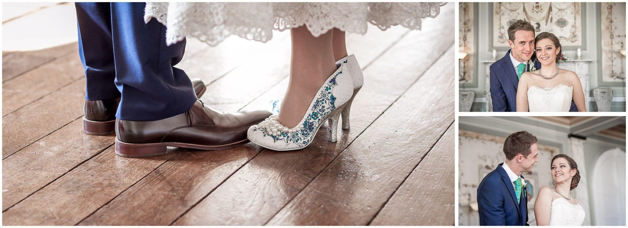 Avington Park wedding photography bride and groom