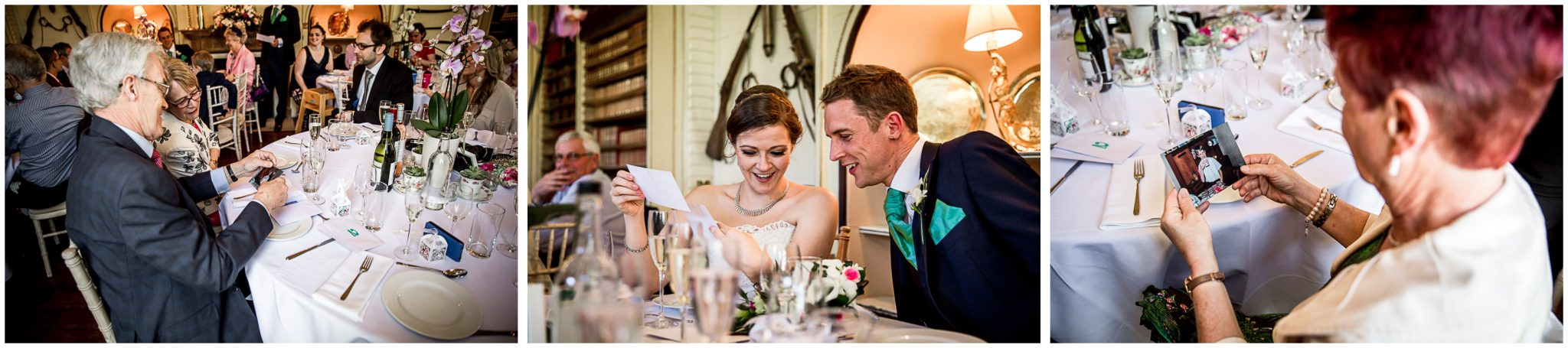 Avington Park wedding photography candids of guests