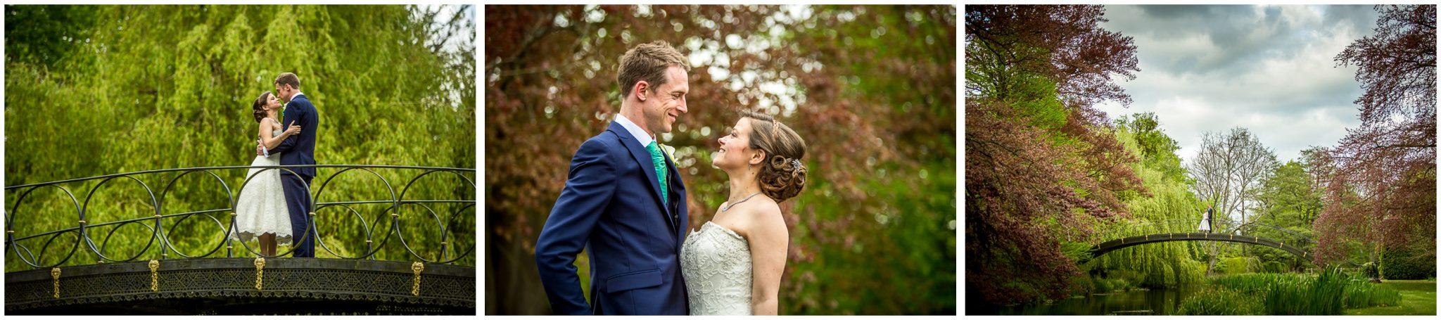 Avington Park wedding photography couple portraits
