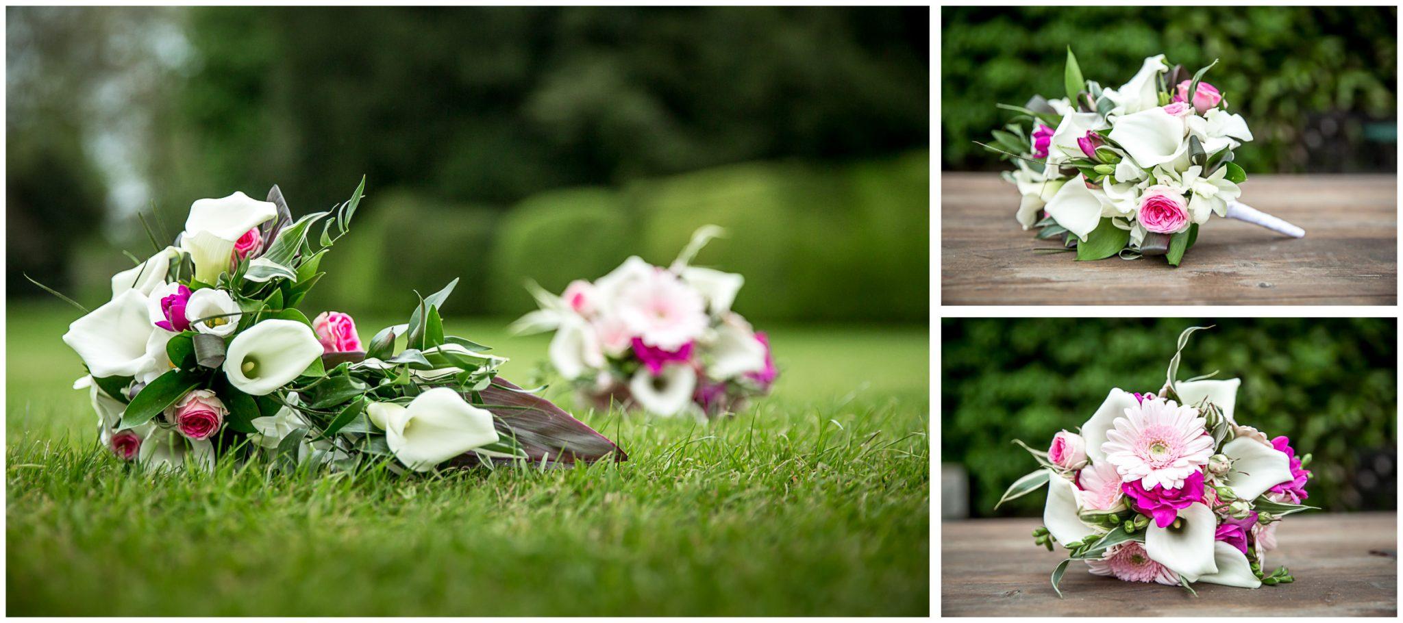Avington Park wedding photography bride's bouquet