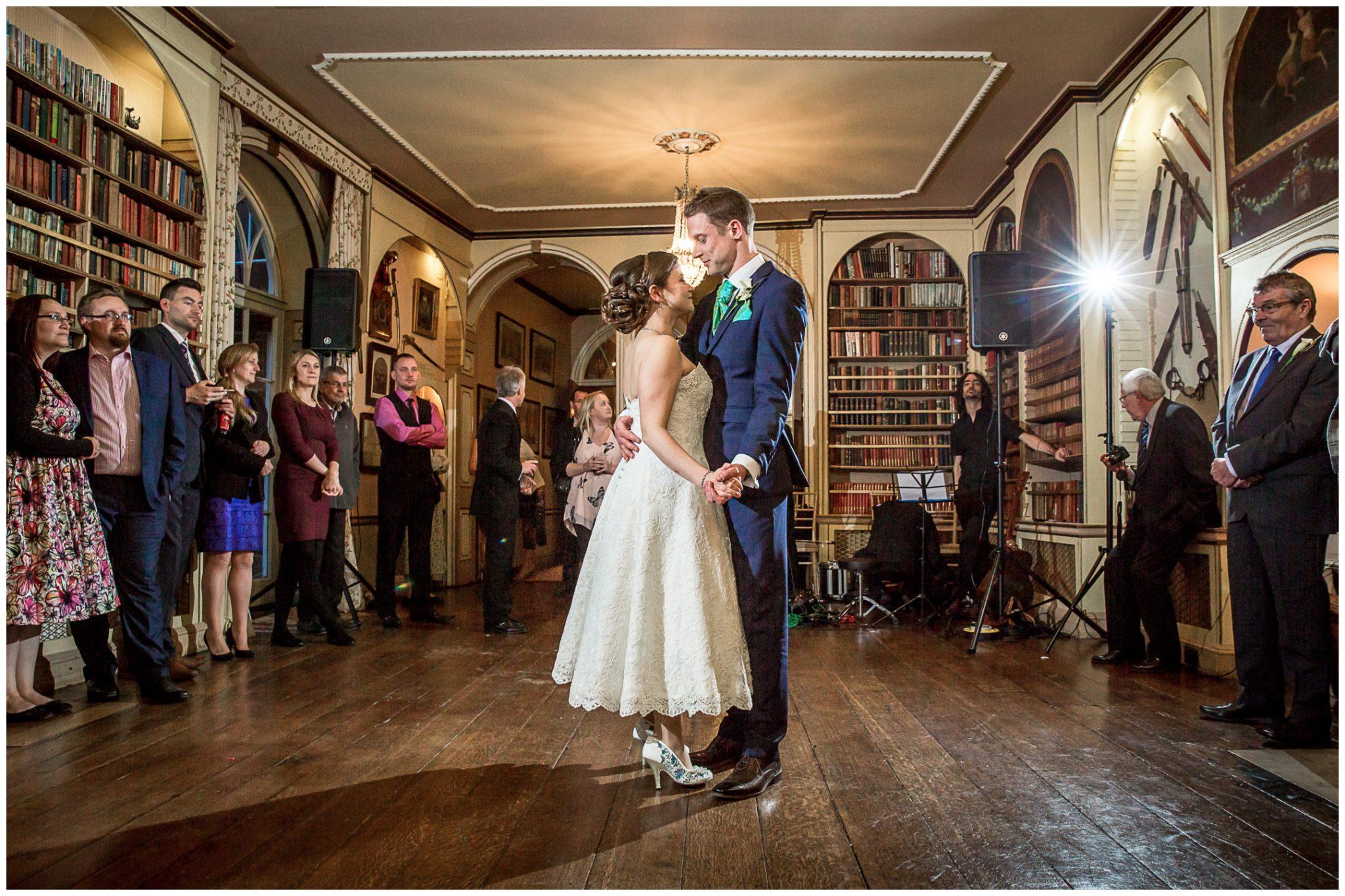Avington Park wedding photography first dance