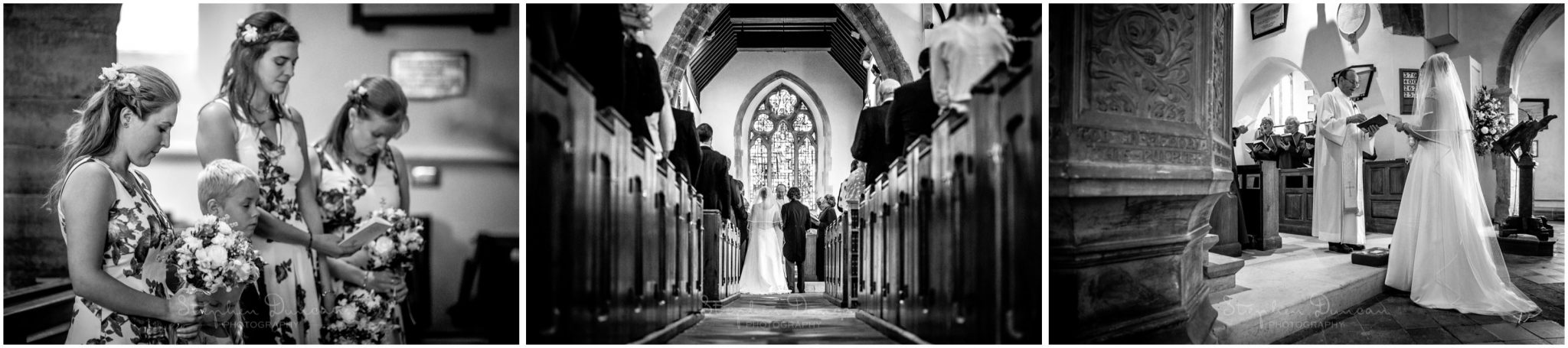 Lymington wedding photography boldre church marriage service