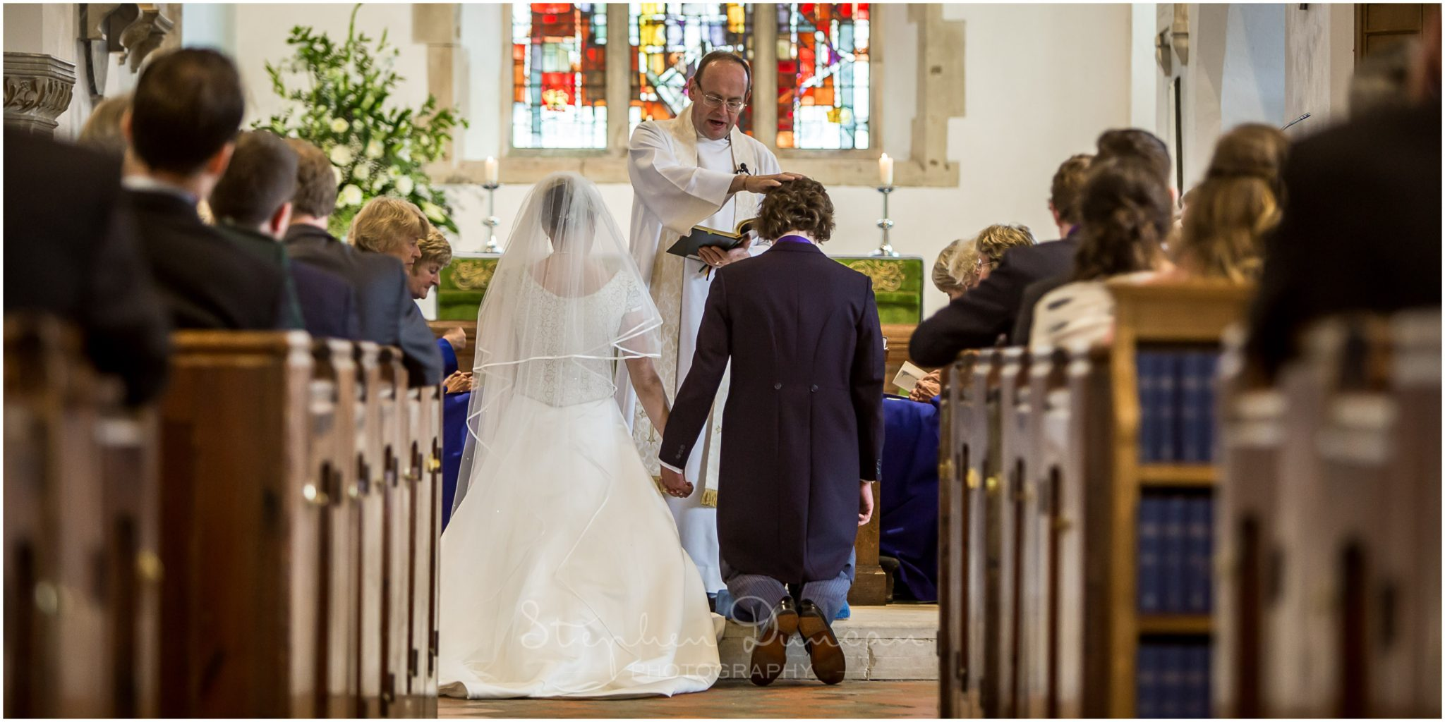 Lymington wedding photography the blessing, Boldre church