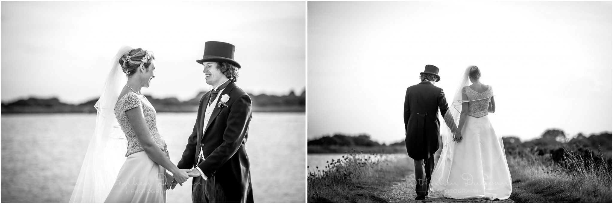 Lymington wedding photography couple portraits