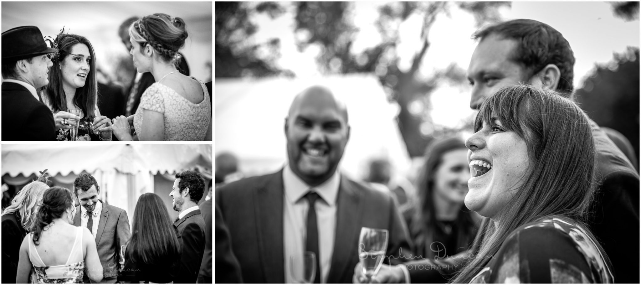 Lymington wedding photography candid photos of guests