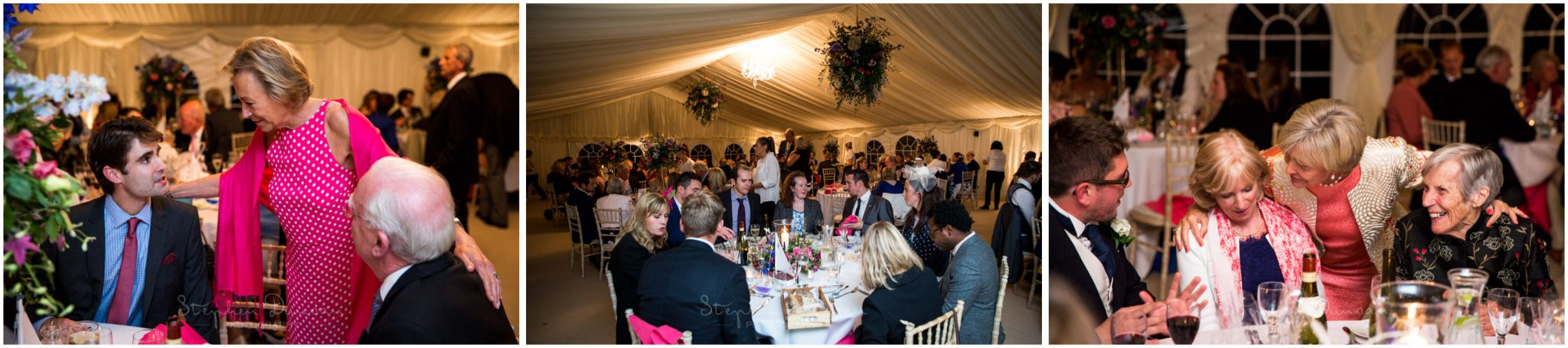 Lymington wedding photography marquee