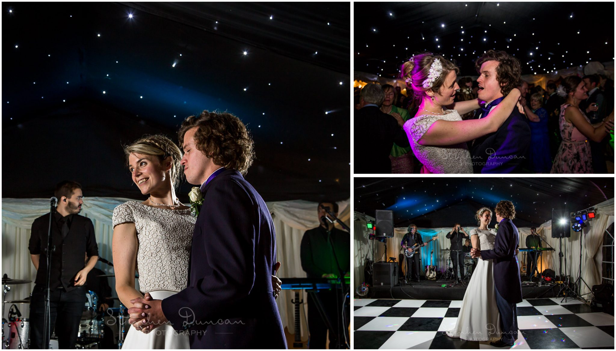 Lymington wedding photography first dance