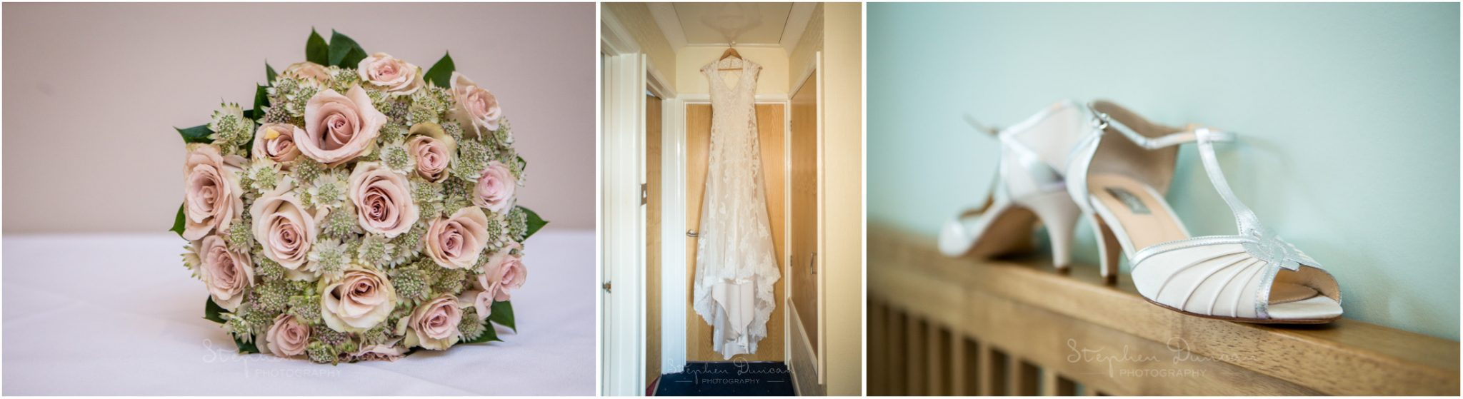 Romsey Abbey wedding photographer dress and shoe details