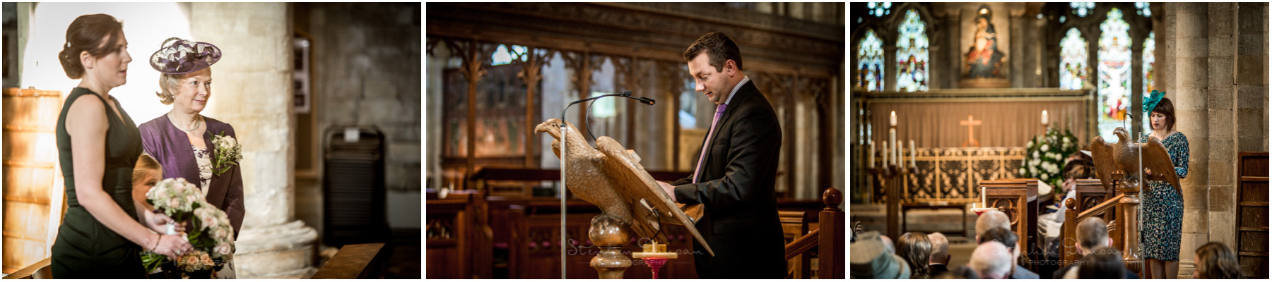 Romsey Abbey wedding photographer guest readings