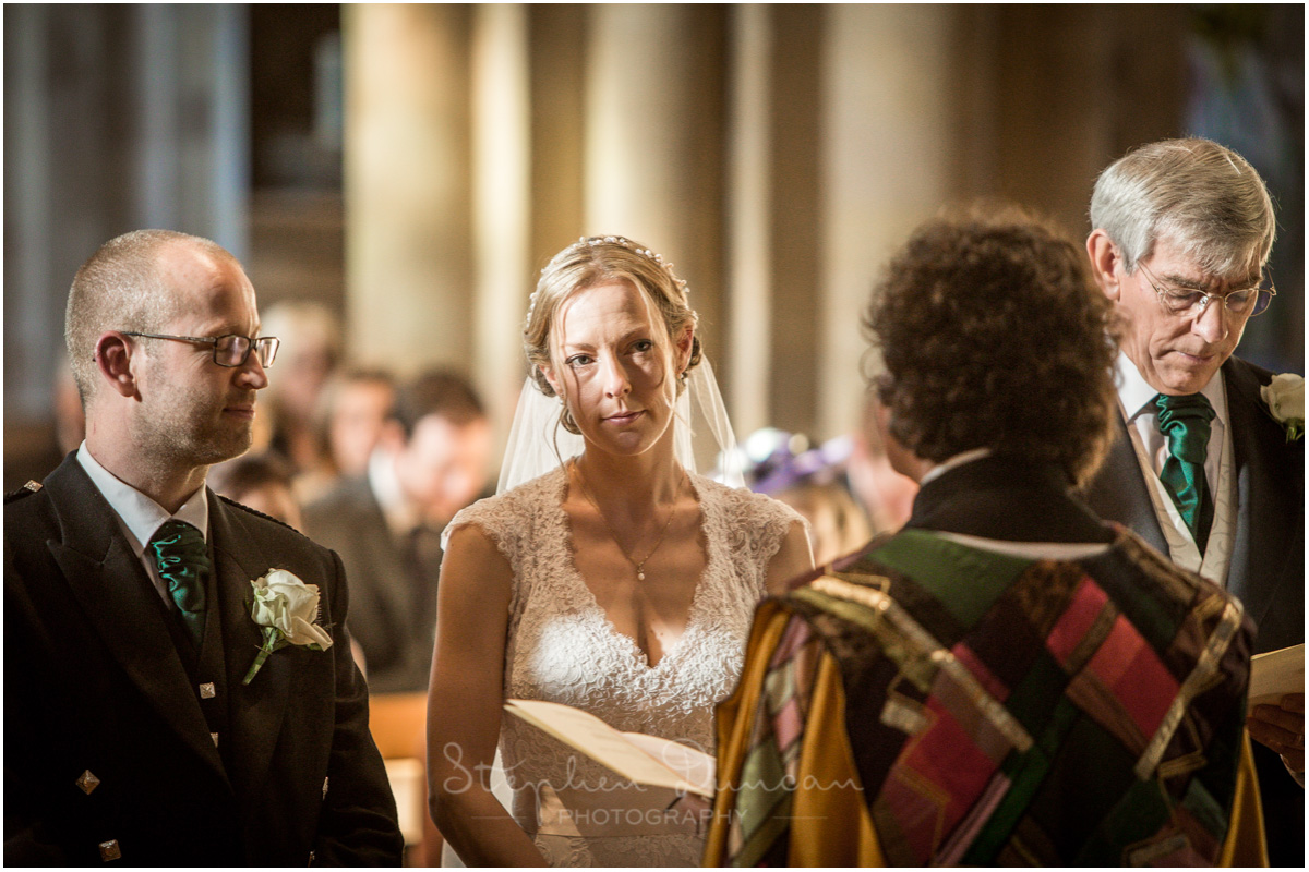 Romsey Abbey wedding photographer marriage