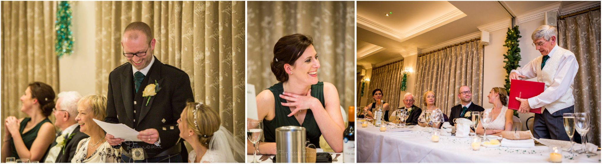 Romsey Abbey wedding photographer groom's speech