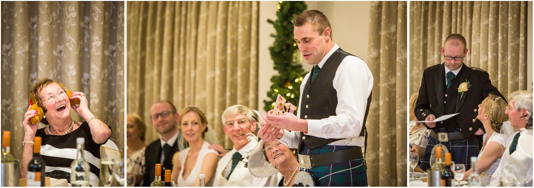 Romsey Abbey wedding photographer best man's speech