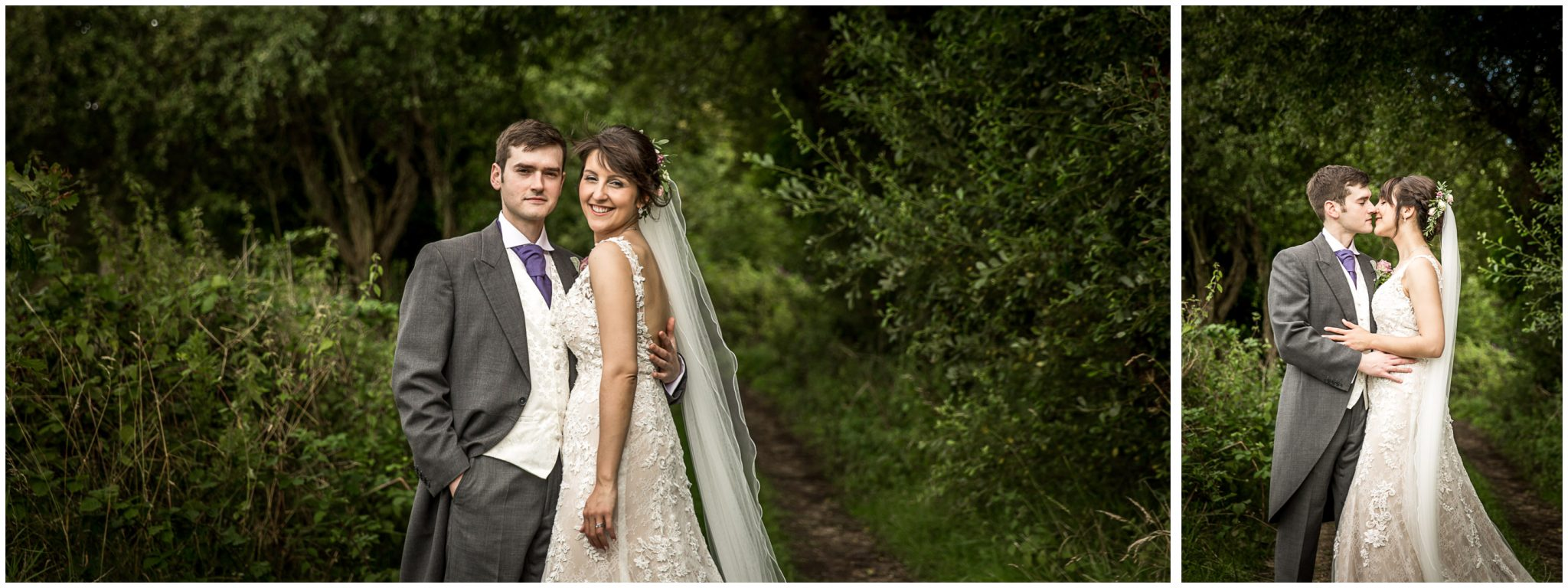 Sopley Mill wedding photography bride and groom colour portraits