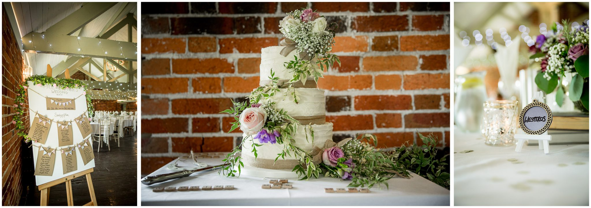 Sopley Mill wedding photography cake and flower details