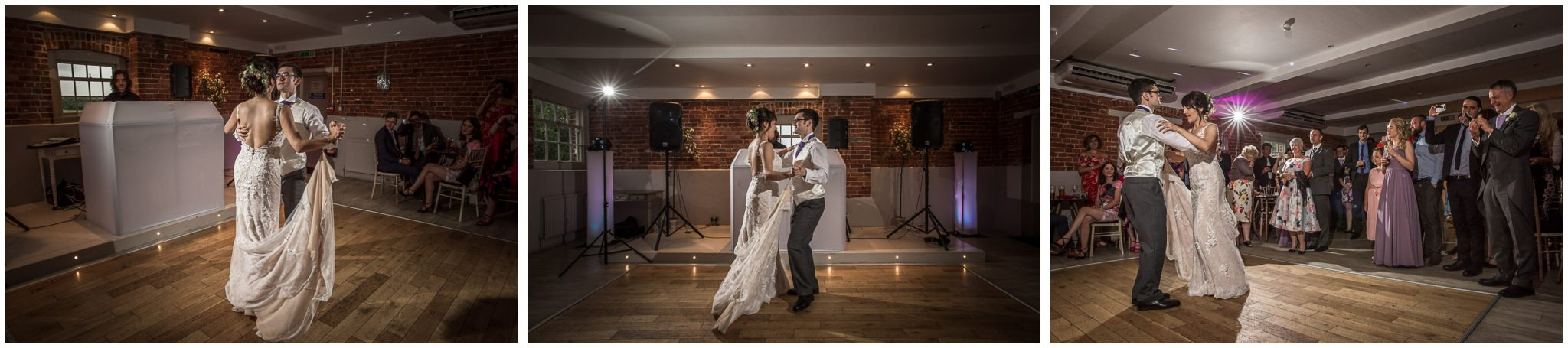 Sopley Mill wedding photography couple first dance