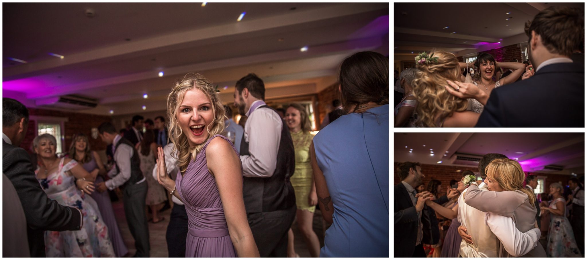 Sopley Mill wedding photography dance floor action