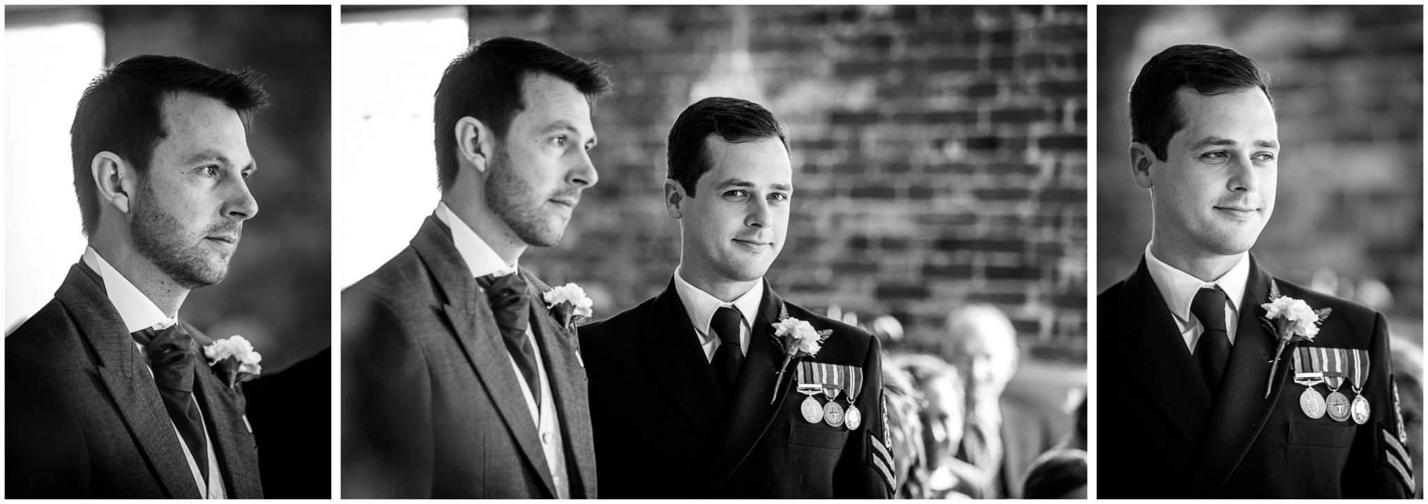 Sopley wedding photographer black and white portraits