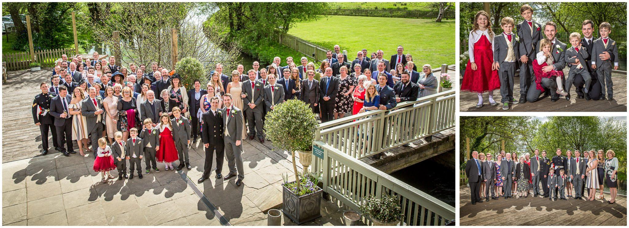Sopley wedding photographer group photographs