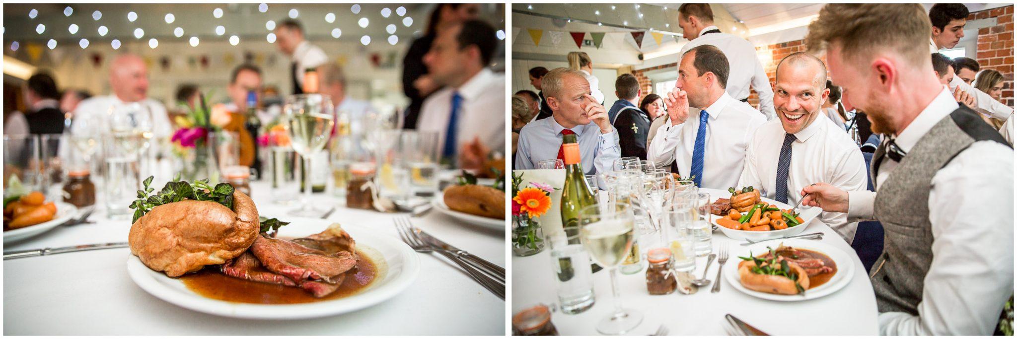 Sopley wedding photographer wedding breakfast