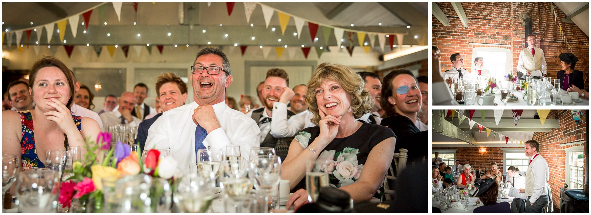 Sopley wedding photographer guest reactions