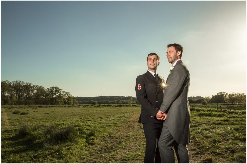 Tom & Jonny's Sopley Mill Wedding