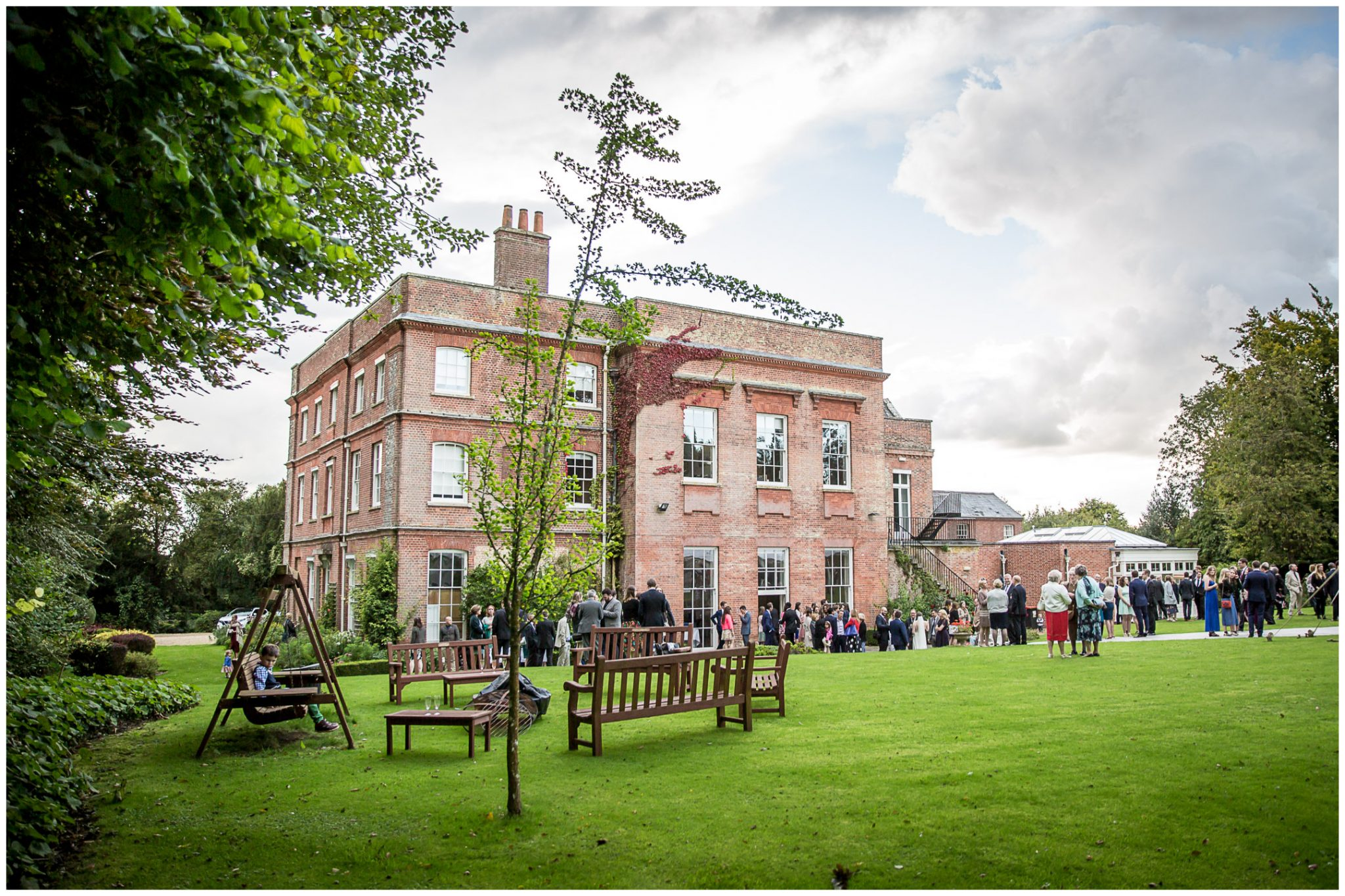 Old Alresford Place wedding photography reception venue exterior