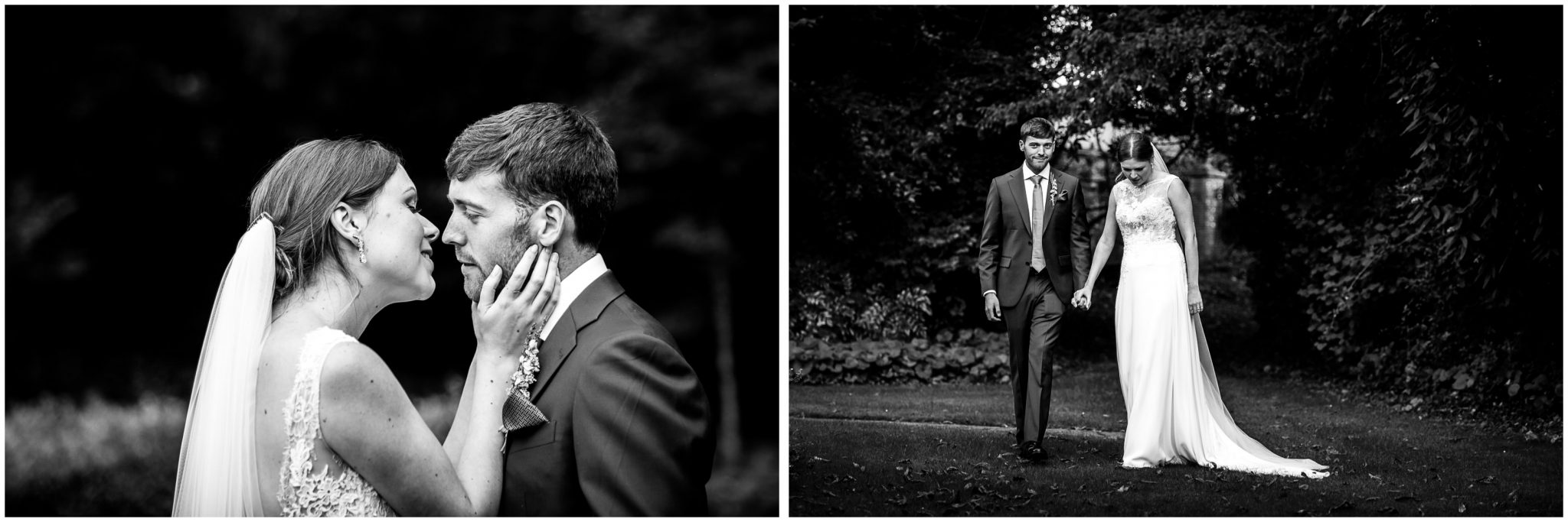 Old Alresford Place wedding photography couple portraits in gardens