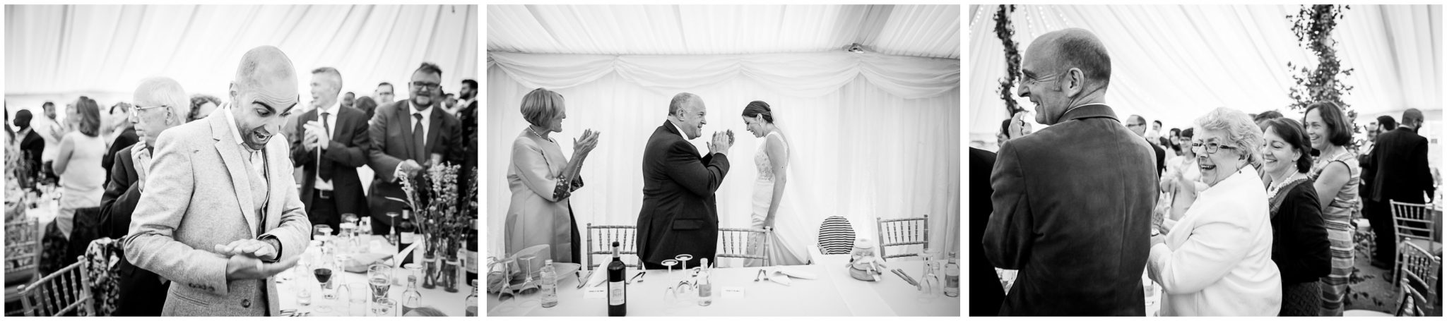 Old Alresford Place wedding photography start of reception