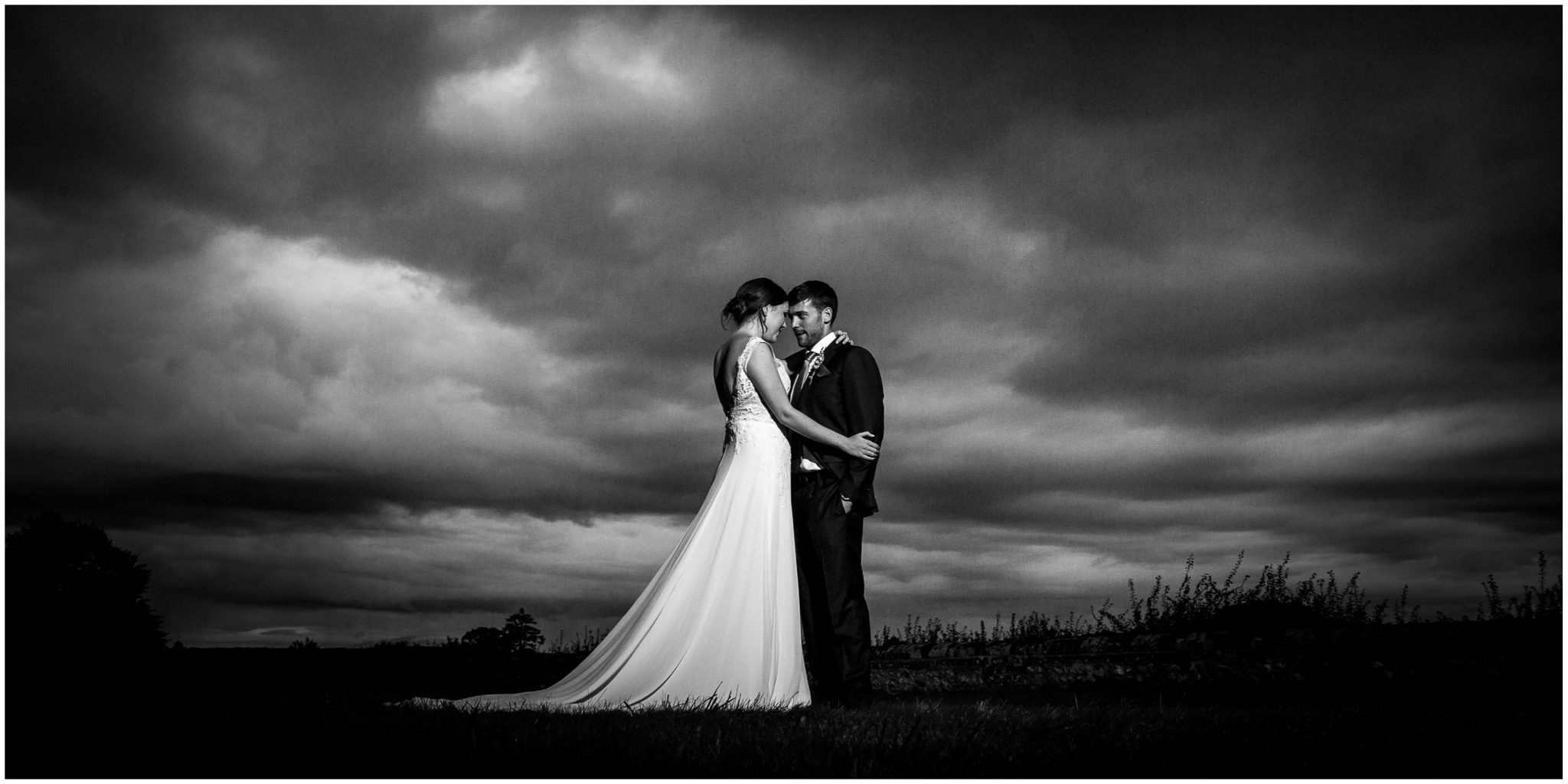 Old Alresford Place wedding photography couple portrait black and white
