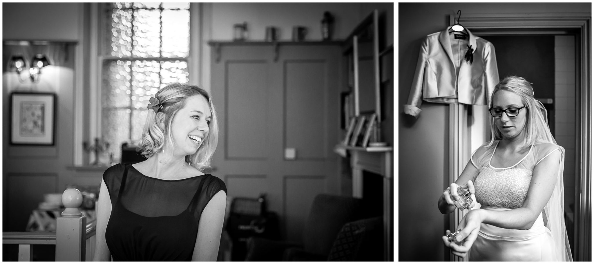 Winchester Great Hall wedding photography bride prep at Westgate Hotel