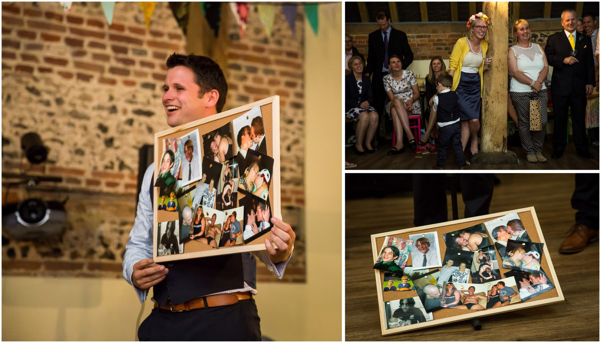 Winchester Great Hall wedding photography embarrasment for groom
