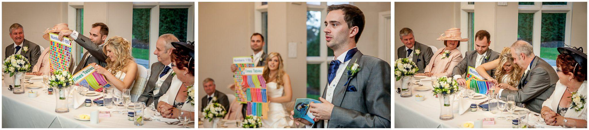 Audleys Wood wedding photography best man's speech
