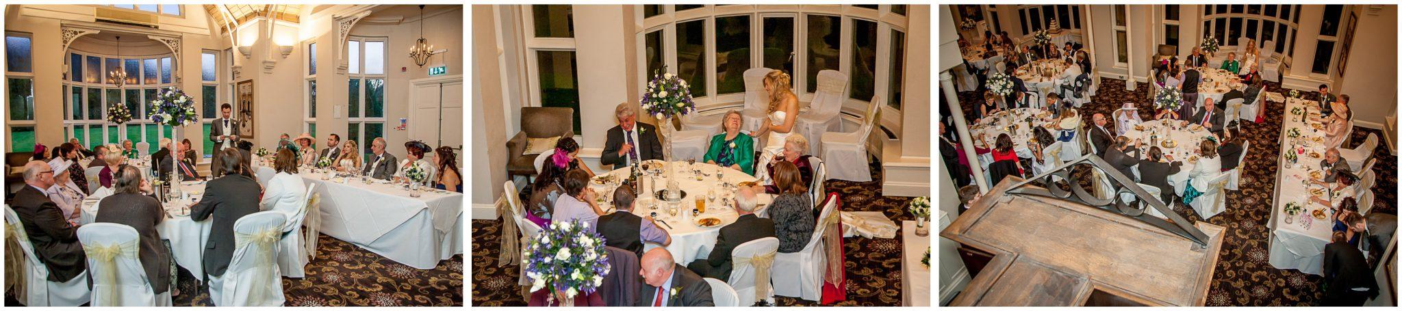 Audleys Wood wedding photography wedding breakfast