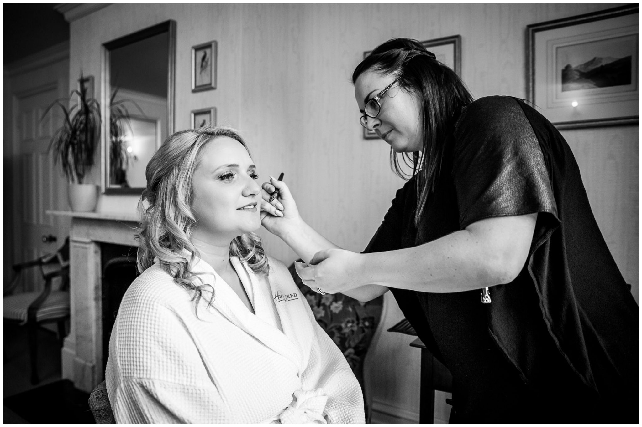 Audleys Wood wedding photograhy bridal make up