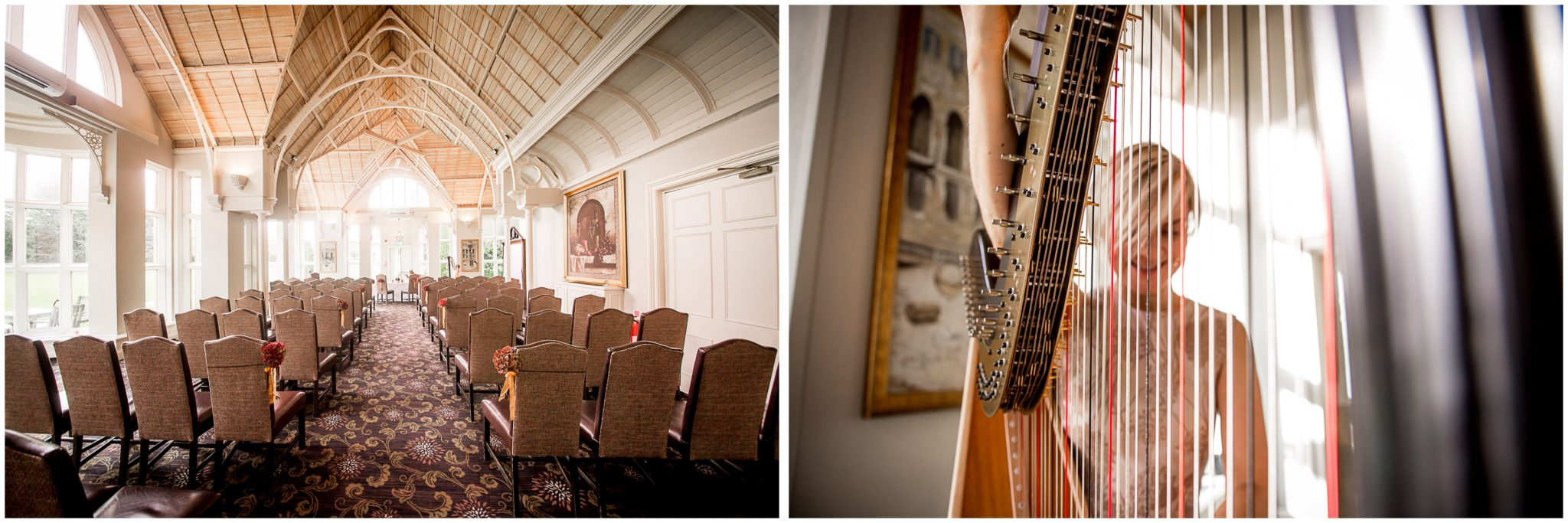 Audleys Wood wedding photograhy ceremony room