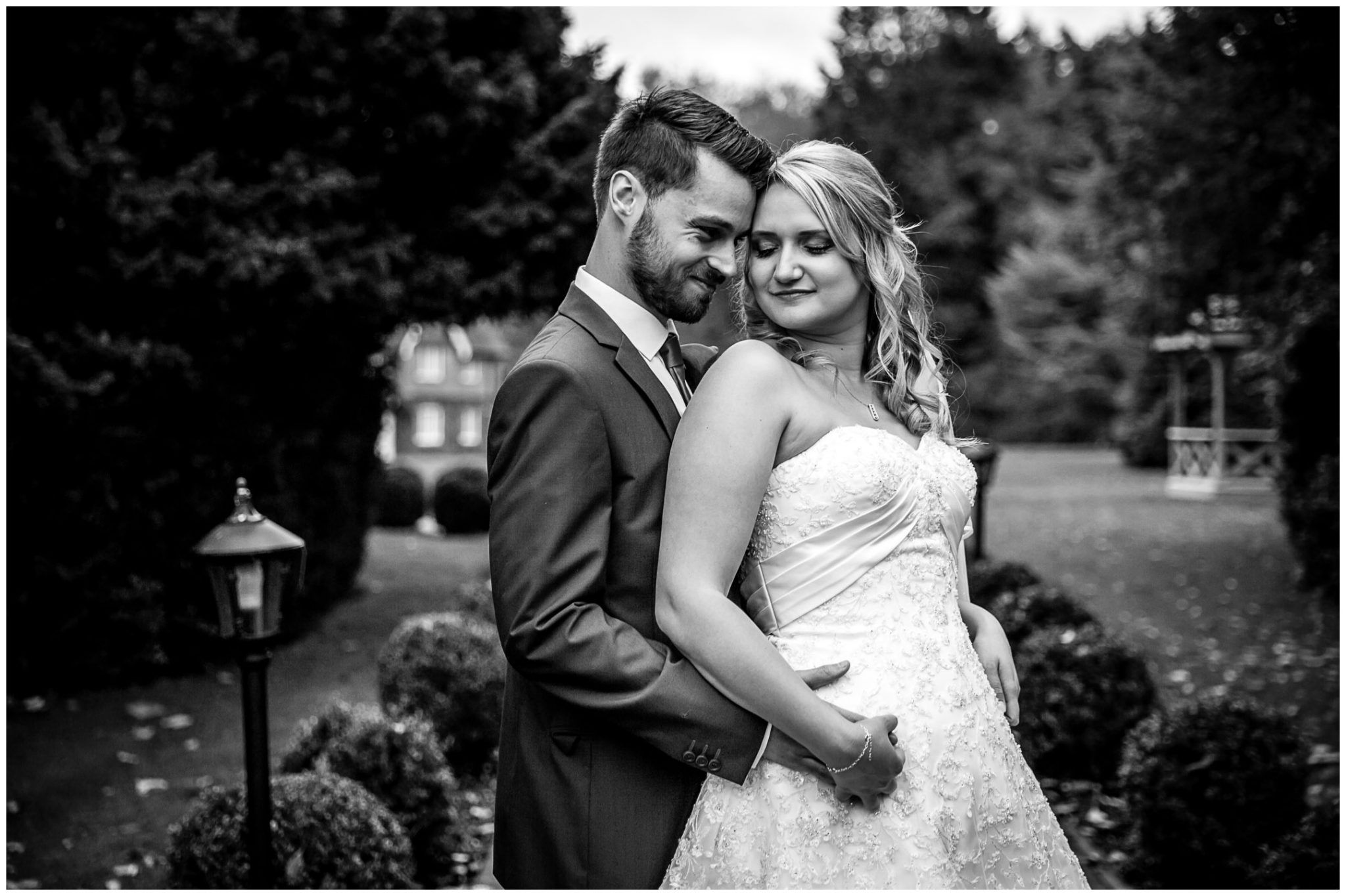 Audleys Wood wedding photograhy couple portrait