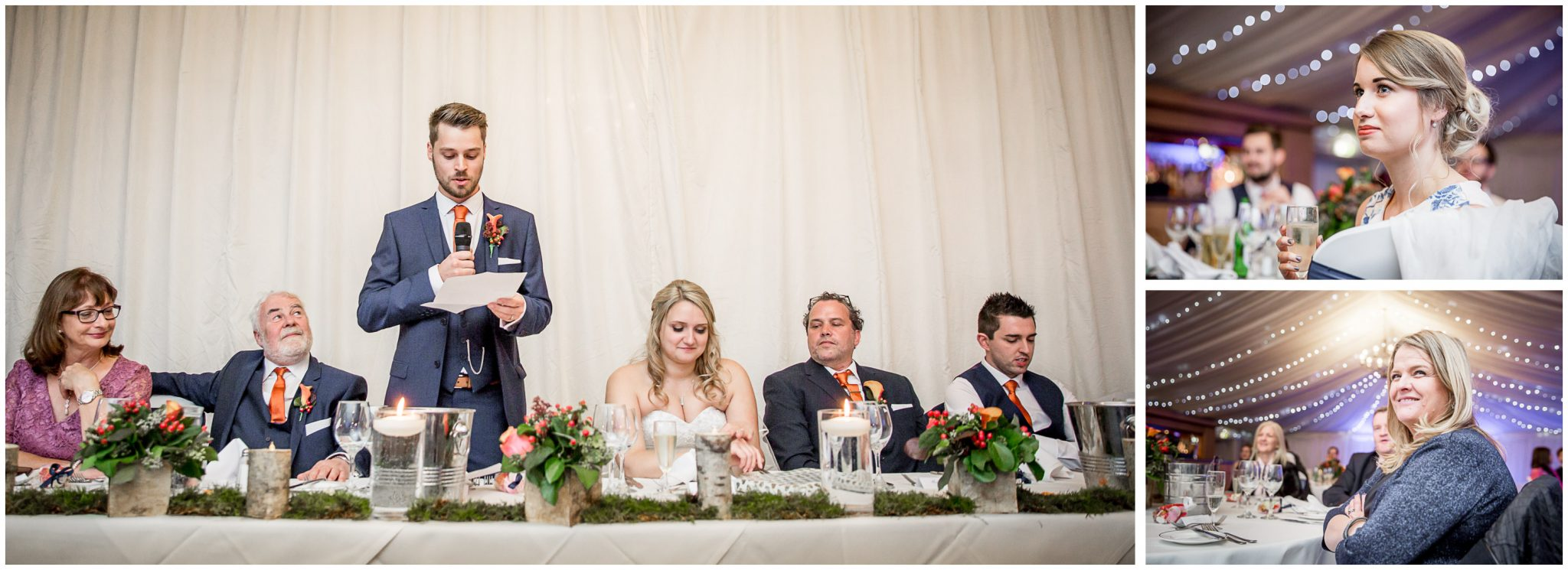 Audleys Wood wedding photograhy the speeches