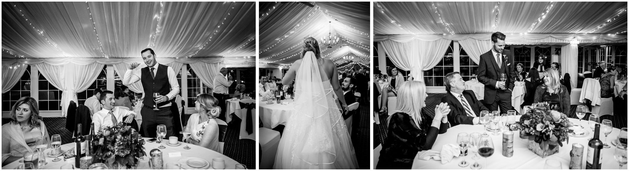 Audleys Wood wedding photograhy evening reception