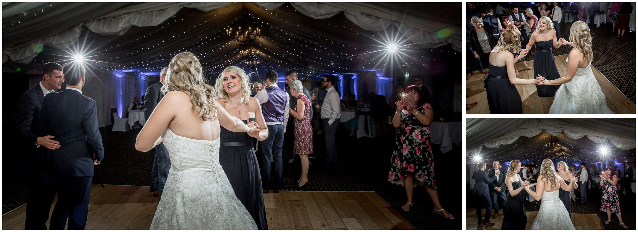 Audleys Wood wedding photograhy evening party